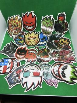 18pcs. Spitfire Skateboard Wheels Stickers sticker waterproo