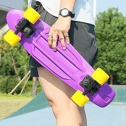 22 inch Skateboard Mini Cruiser Penny Style Board Plastic De