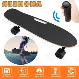 ANCHEER 250W Electric Skateboard Longboard with Remote Contr