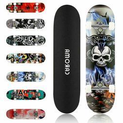 31 x 8 Inch Skateboard Fun Printed Complete Skateboards 9 La