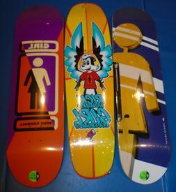 8.37 almost wide 8.25 8.5 pro Girl bulk lot skateboard decks