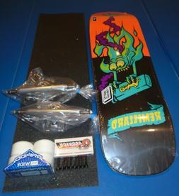 8.8 Santa Cruz complete skateboard deck Independent trucks 5