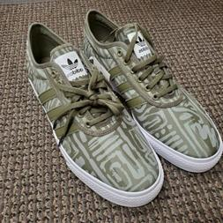 Adidas Adi Ease Skateboard Shoes/Sneakers - Olive/White US S
