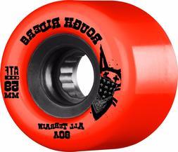 Bones ATF ROUGH RIDERS Skateboard Wheels RED 59mm 60b