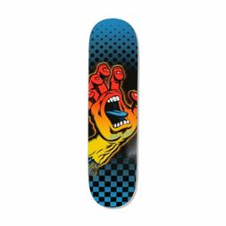 "Santa Cruz Aura Hand HRM 8.125"" Skateboard Deck - Multi"