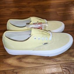 Vans Authentic Pro Pale Banana/Marshmallow Suede Skateboard