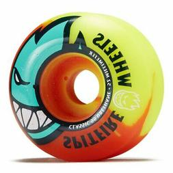 Red New Set of 4 Spitfire Death to Hypno Skateboard Wheels 54mm