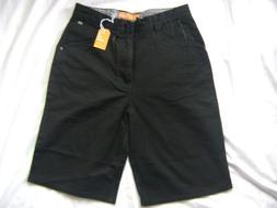 Enjoi Black Twill Skateboard Shorts Size 28 New