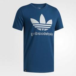 Mens Adidas Originals Skateboarding Trefoil Logo Tee Shirt
