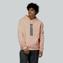 Brand New Mens Adidas Skateboarding Solid Pillar Hoodie Pink