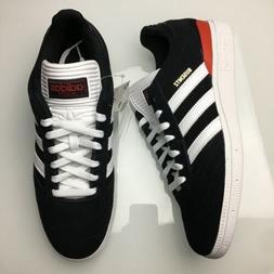 Adidas Busenitz Black Red Suede White Skate Skateboarding Sh
