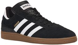 adidas Originals Men's Busenitz Fashion Sneaker, black/White