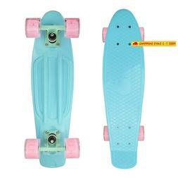 Complete 22Inches Cruiser Skateboard For Beginners - Kids Gi