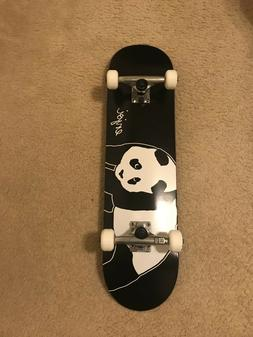 "Enjoi Complete Skateboard 8"" - Black"