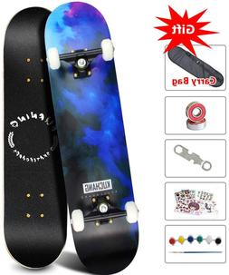 Phoeros Complete Skateboards -Standard for Beginners Starter
