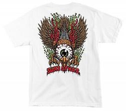 Santa Cruz Eagle Eye T-Shirt Youth 16 White