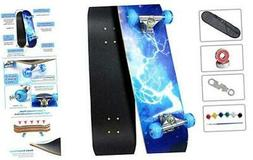 Easy_Way Complete Skateboards- Standard Skateboards with Col