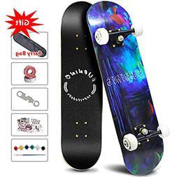 Easy_Way Skateboard -Standard Skateboard for Beginner Starte