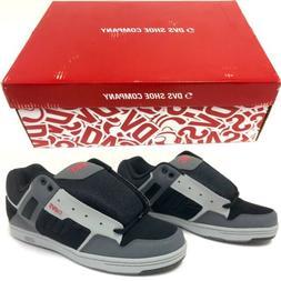 DVS Enduro 125 Size 12 Skateboard Shoes Black Gray Red DVF00