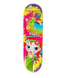 "28"" Titan Flower Power Princess Girls' Complete Skateboard,"