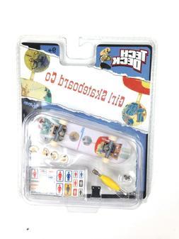 """Tech Deck Girl Skateboard Co """"Rickk Howard"""" 96mm Board With"""
