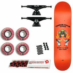 "Globe Skateboard Complete G2 Black Market Red 7.75"" Tensor,"