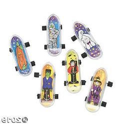 HALLOWEEN ~ 36 Mini Skateboards Toys Kids Party Favors