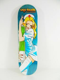 "Hook-Ups Nurse Girl Mika 8.5"" x 32"" Skateboard Deck w/ Free"