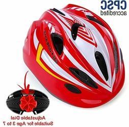 Kids Bike Helmet for Bicycle Cycling, Skateboard, Scooter w