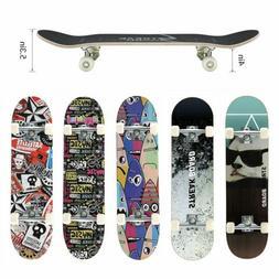 kids trick complete skateboard 31 x 8