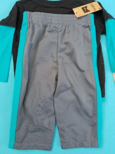 Nike Piece Set - Sweatpants Long Sleeve - 12 months -