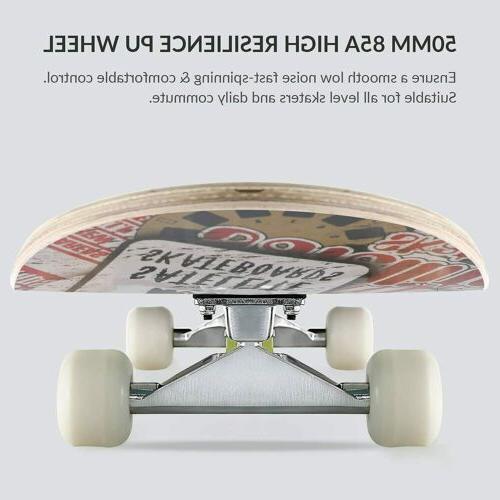 "31""x Tricks Skateboard Canadian Maple US"