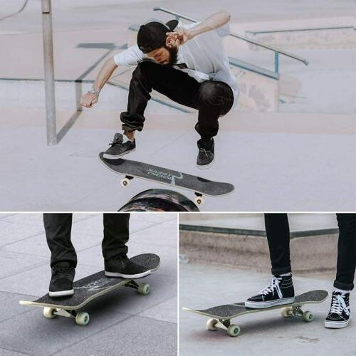 """31""""x 8"""" Skateboard 7 Maple Double"""
