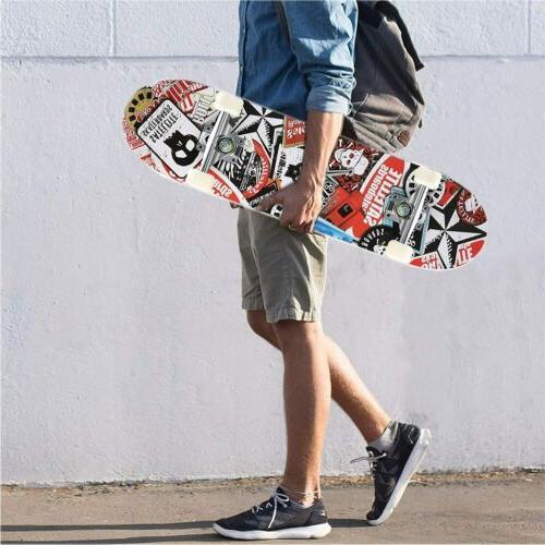"31""x 8"" Tricks Skateboard US"