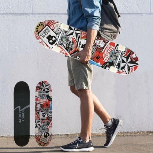 31 x 8 complete tricks skateboard 7
