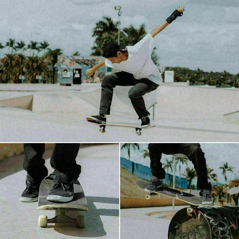 31 8 Inch Skateboard Fun Printed Long g 06