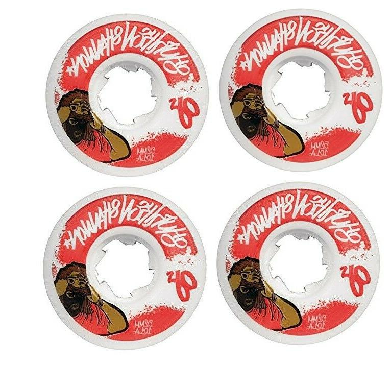 52mm shuriken shannon mask 101a skateboard wheels