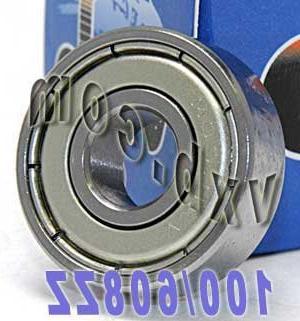 608-ZZ Bearing, 8x22x7, Shielded