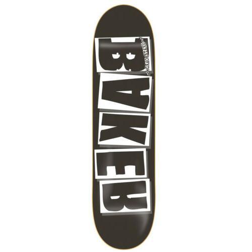 BAKER Skateboard Deck LOGO BLACK/WHITE 8.25' BRAND NEW IN SH