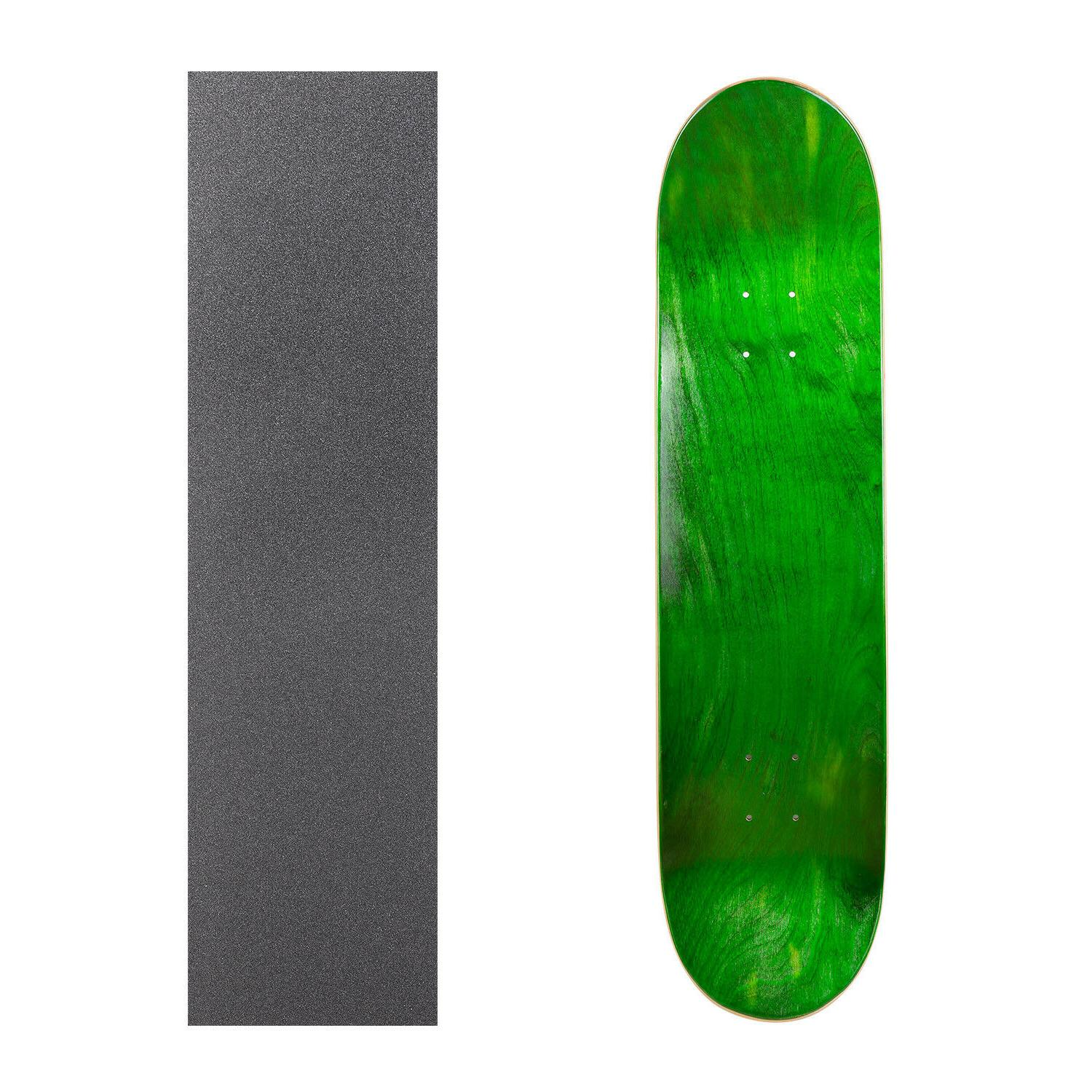"""Cal Blank Skateboard Deck 7.75"""" 8.25"""" with Grip Multi-Colors Set"""
