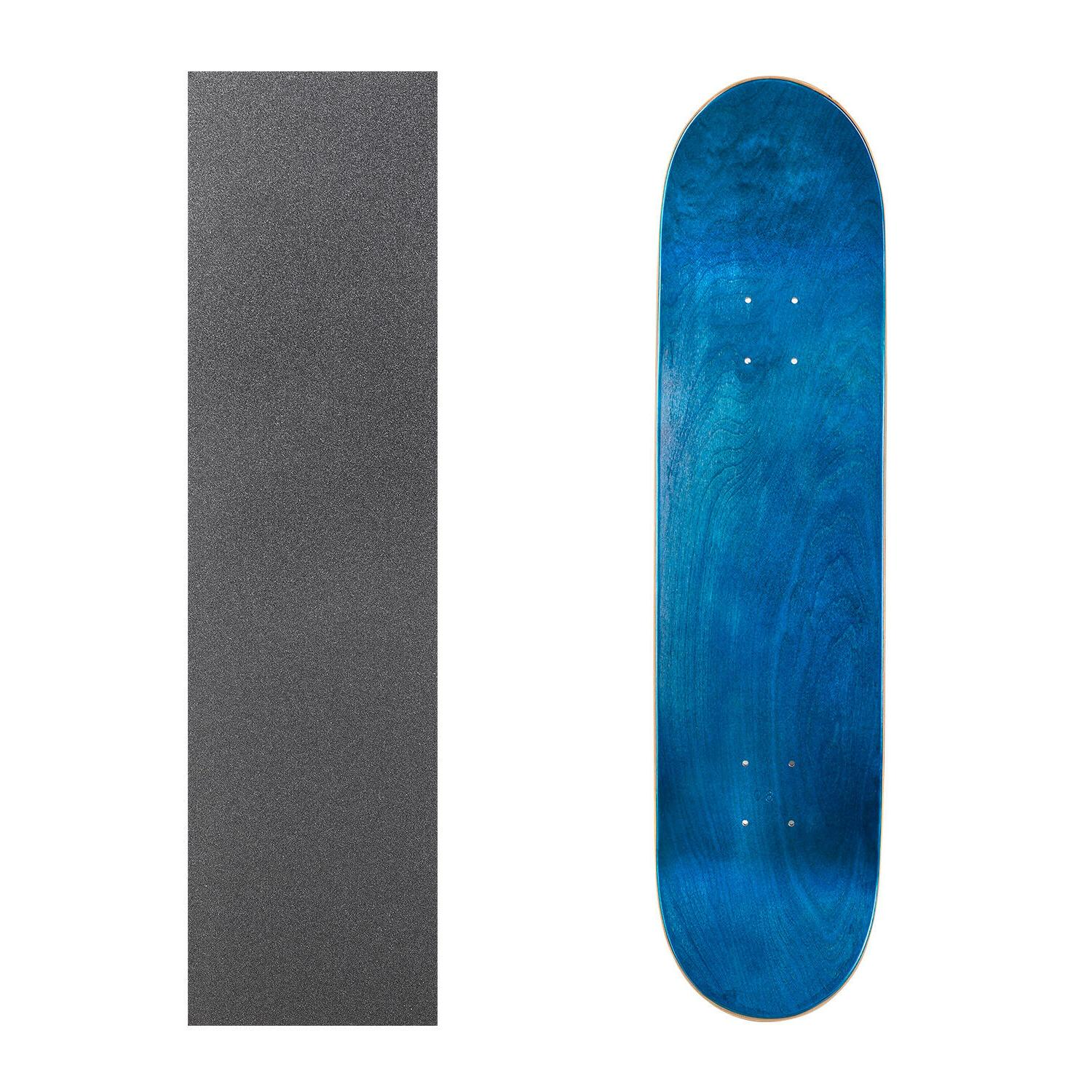 """Cal Blank Skateboard 8.25"""" with Grip Tape Multi-Colors Set"""
