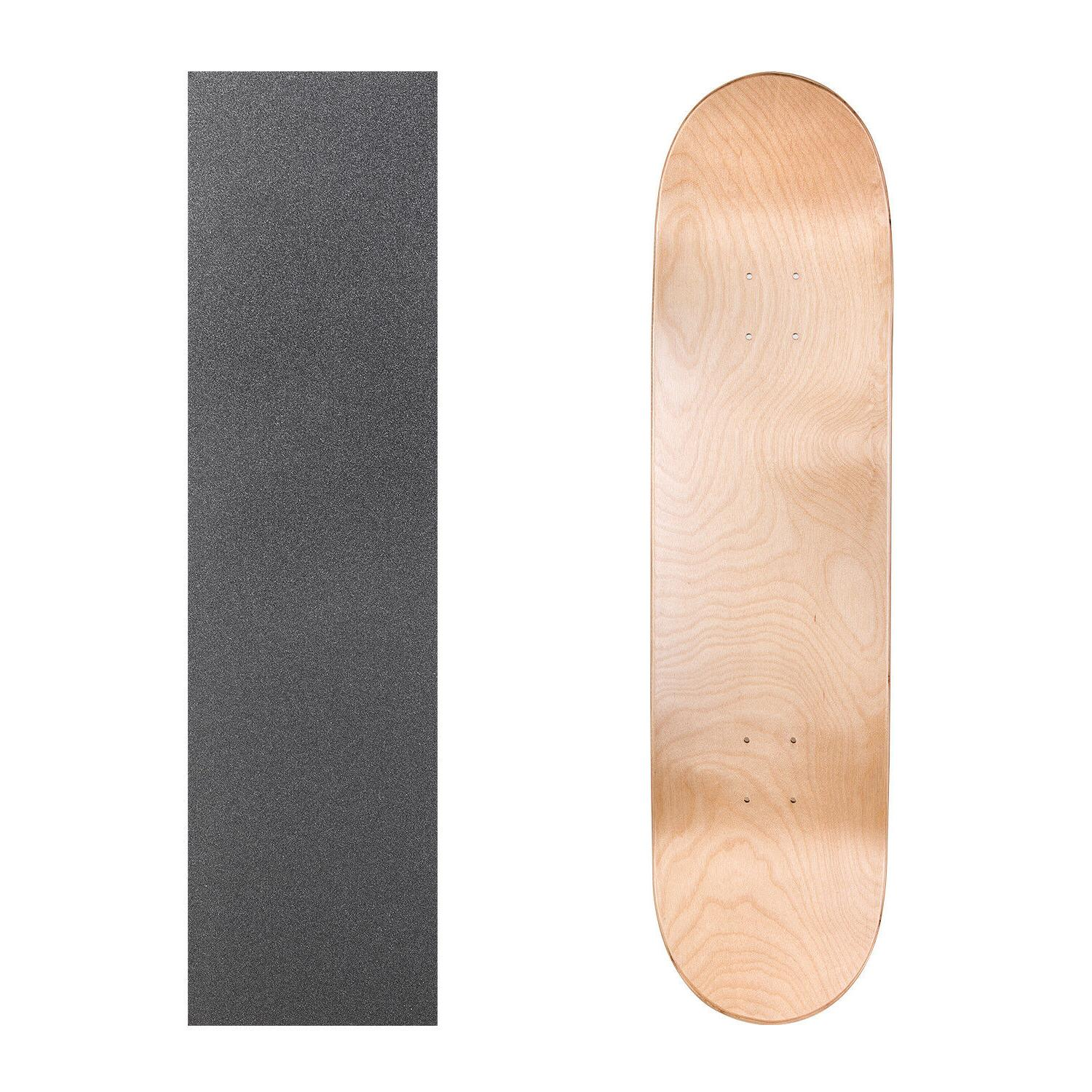 """Cal Blank Skateboard Deck 7.75"""" 8"""" 8.25"""" with Grip Multi-Colors Set"""