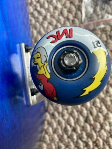 Complete Skateboard Park Cruz Decal T New