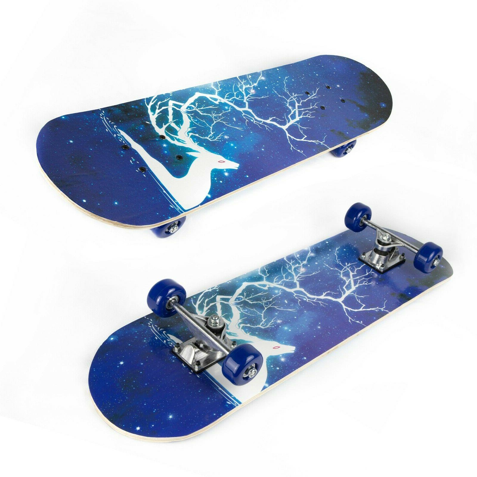 Complete for Boys Girls Adults 7 Lays Maple Deck