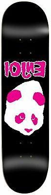 Enjoi Don't Fit Skateboard Deck Sz 8.375 x 32.2in Black/Pink