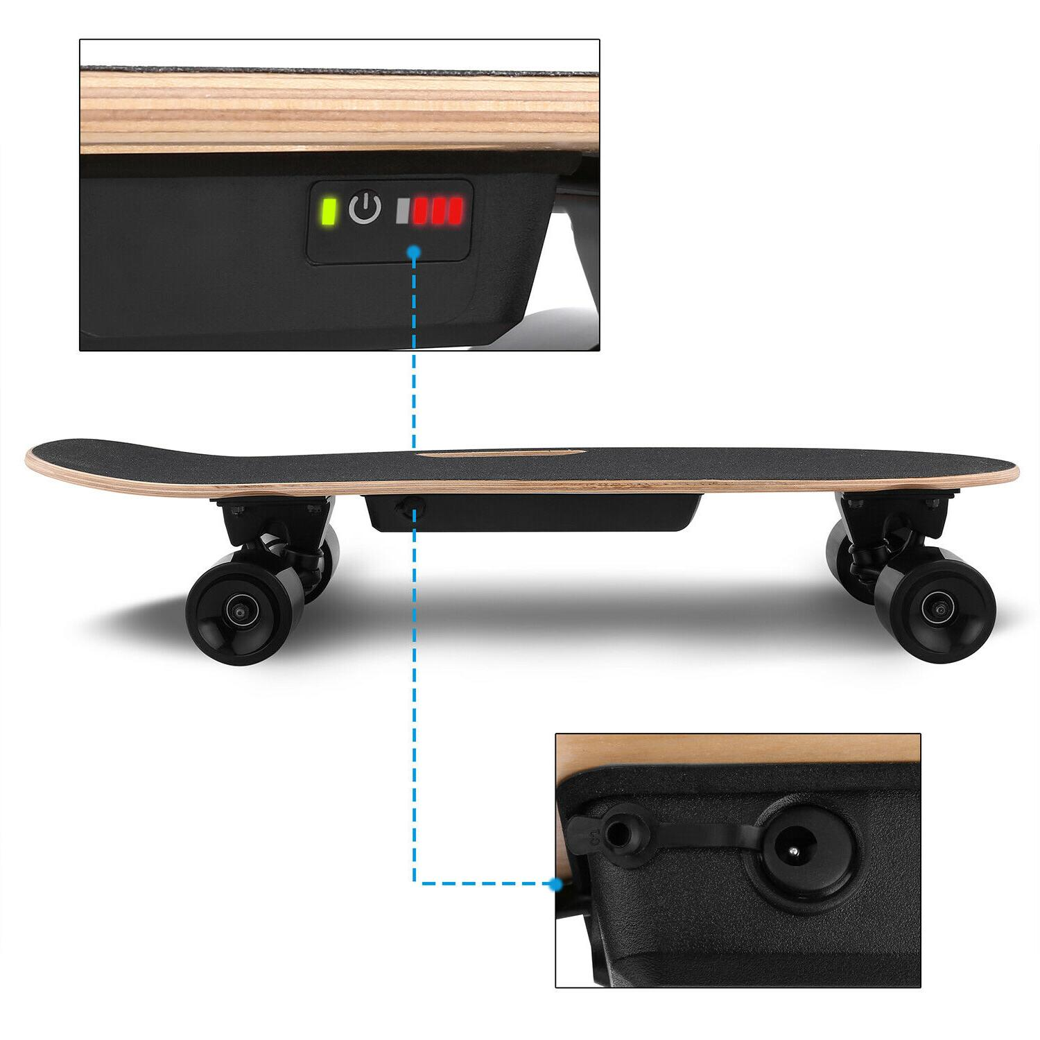ANCHEER Electric Remote Dual Longboard Board
