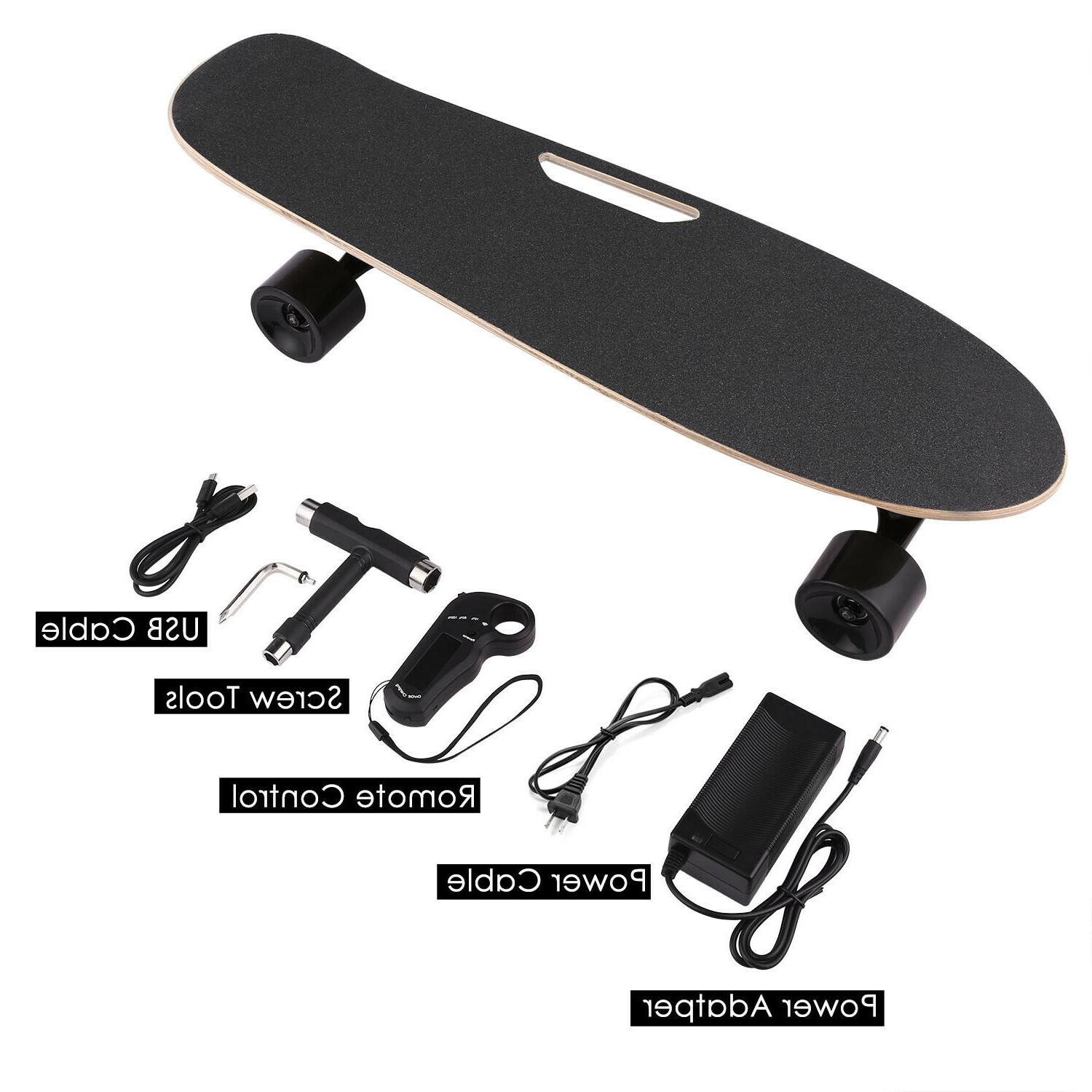 ANCHEER Electric Remote Dual Motor Longboard Board
