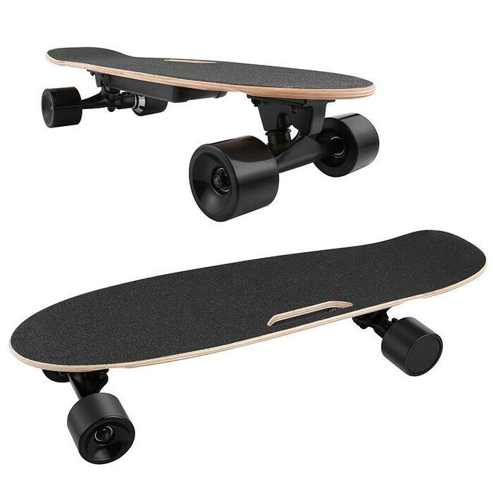 ANCHEER Skateboard Wireless Remote Control Dual Motor Longboard