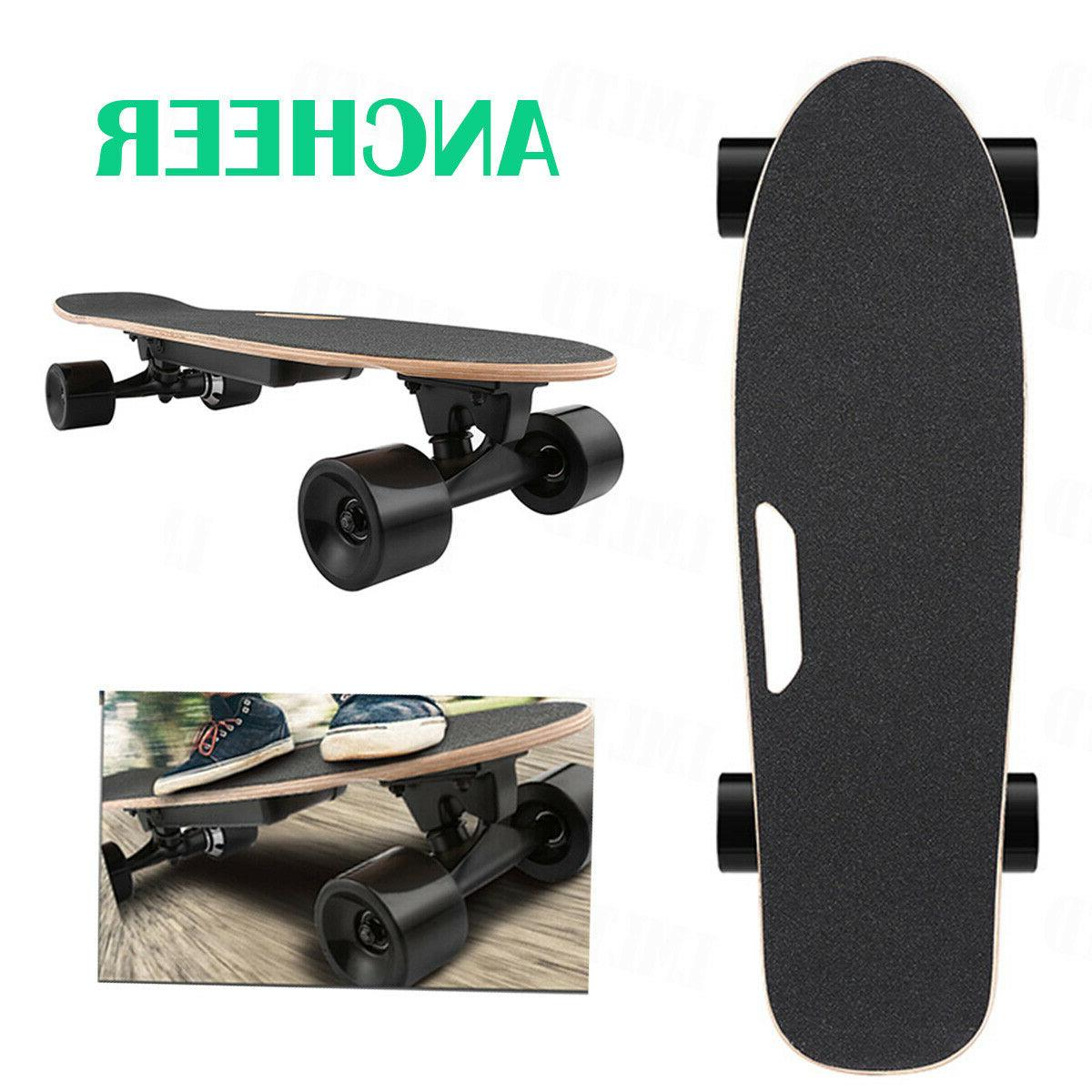 electric skateboard wireless remote control dual motor