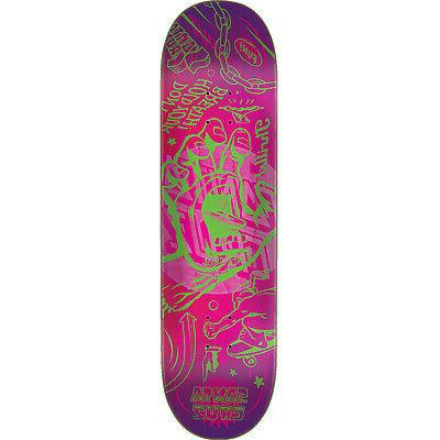 "Santa Cruz Skateboards Flash Hand Skateboard Deck - 8.5"" x 3"